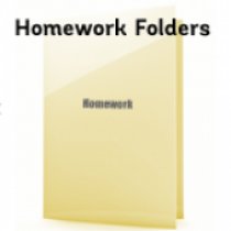 Homework Folders